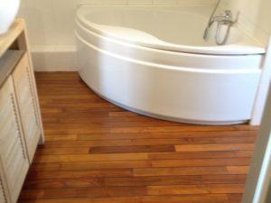 Rénovation parquet salle de bain