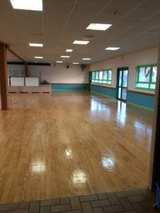 Rénovation sols salle de convivialité