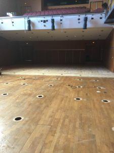 Rénovation salle Archipel à Granville